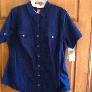 Dickies Blouse Size 2XL  NWT